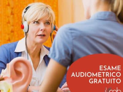 visita acustica, esame audiometrico gratuito