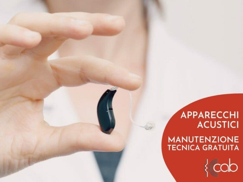 Manutenzione apparecchio acustico marzo 2021