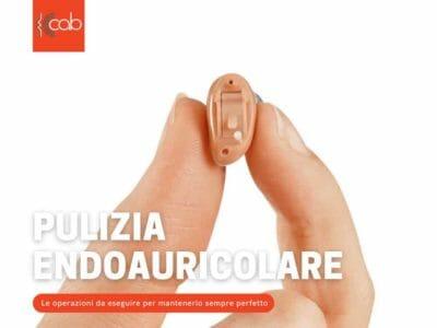 Pulizia apparecchio acustico endoauricolare